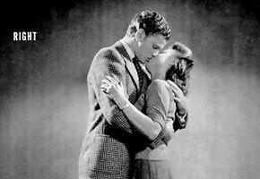 Ближе, еще ближе… достаточно! Инструкция 1940-х годов, как правильно целоваться