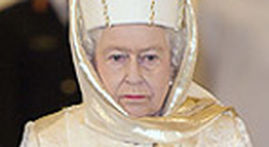 Елизавета II посетила мечеть