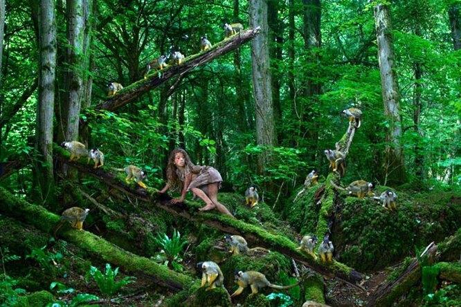 Девочка-волк идругие реальные герои историй одетях-маугли