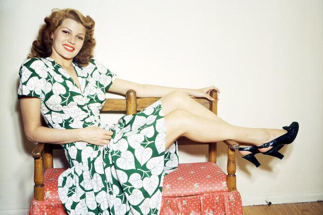 Рита Хейворт: звезда, из-за которой появилось выражение «секс-бомба», иеё боль
