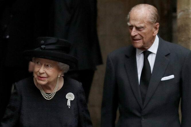 Елизавета II и Филипп