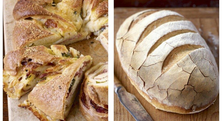 Пять необычных рецептов домашнего хлеба