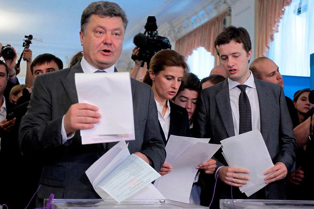 Петр Порошенко, Алексей Порошенко