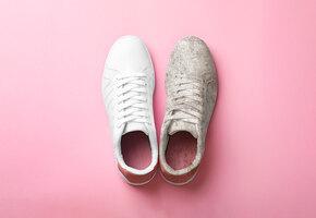 Как выводить пятна от дезодоранта и грамотно стирать кроссовки?