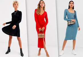 Тепло в платье: семь моделей из трикотажа, которые будут модными этой осенью