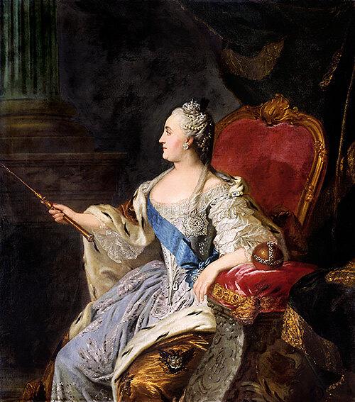 Ф. С. Рокотов, «Портрет Екатерины II», 1763
