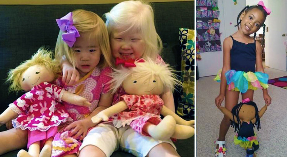 «Кукла как я»: игрушки длядетей, которые непохожи наостальных
