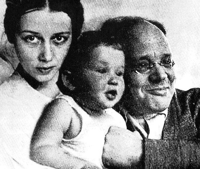 Антонина Пирожкова, Исаак Бабель, дочь Лида