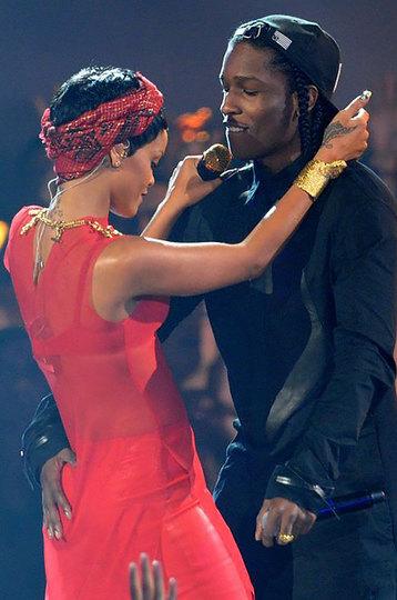 A$AP Rocky и Рианна