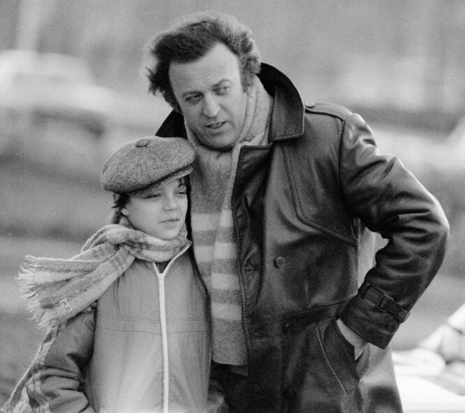 Илья Резник с сыном