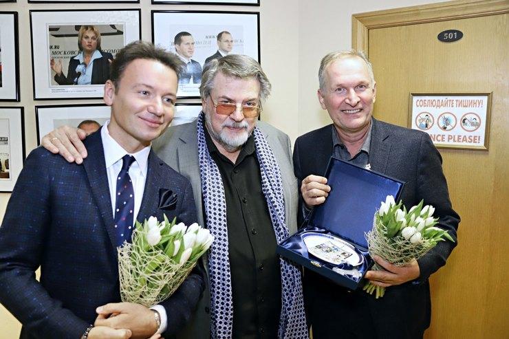 Александр Олешко, Александр Ширвиндт, Федор Добронравов
