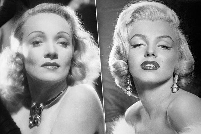 «Золотой Голливуд»: Монро, Дитрих идругие звезды, которые делали пластику