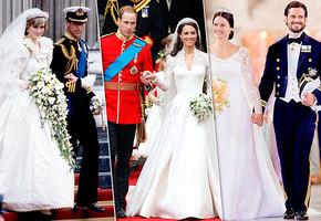 Королевская роскошь! Как менялись свадебные платья принцесс за последние 100 лет