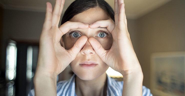 Гимнастика для лица от мешков под глазами * Как убрать с помощью упражнений синяки и круги под глазами