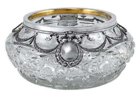 Хрусталь и серебро