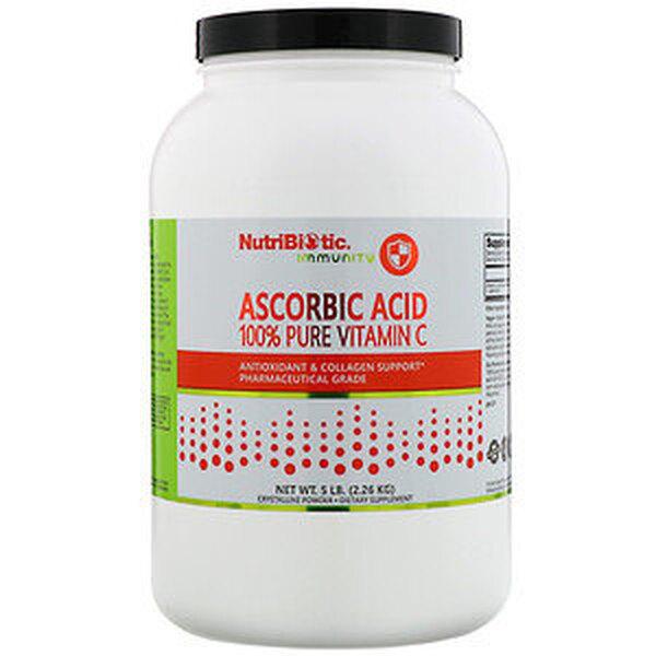 100% чистый витамин C, NutriBiotic,  6223 руб