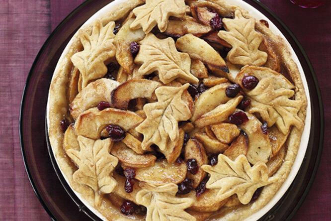 "Яблочный пирог ""Листопад"""