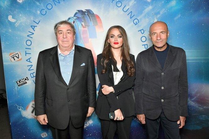 Виктория Кохана, Михаил Гуцериев и Игорь Крутой
