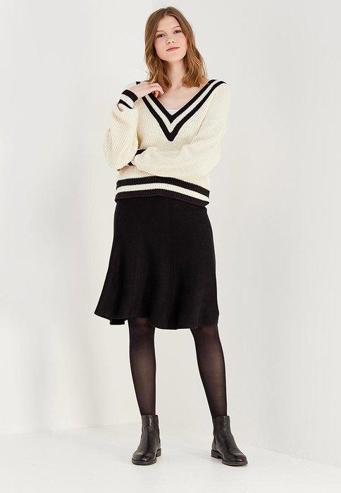 Классическая черная юбка, United Colors of Benetton, 3499 руб.