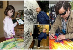 25 людей с особенностями, которые творят чудеса в искусстве