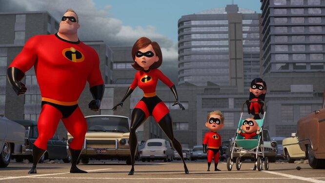 Суперсемейка (The Incredibles)