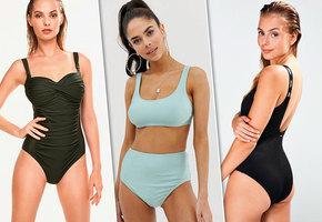 10 стильных plus-size купальников для пляжного сезона