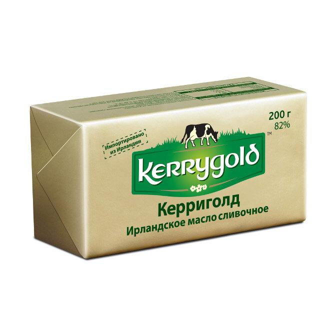 Несоленое сливочное масло Kerrygold