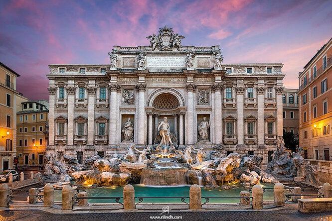 Фонтан Треви в Риме. Ожидания