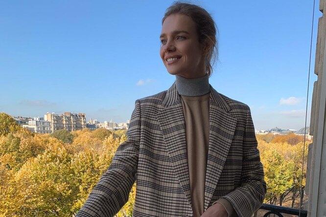 Наталья Водянова взяла ссобой старшего сына насветское мероприятие вПариже