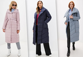 Зимний тренд: модные теплые стеганные пальто
