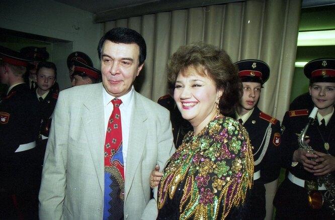 Муслим Магомаев и Тамара Синявская