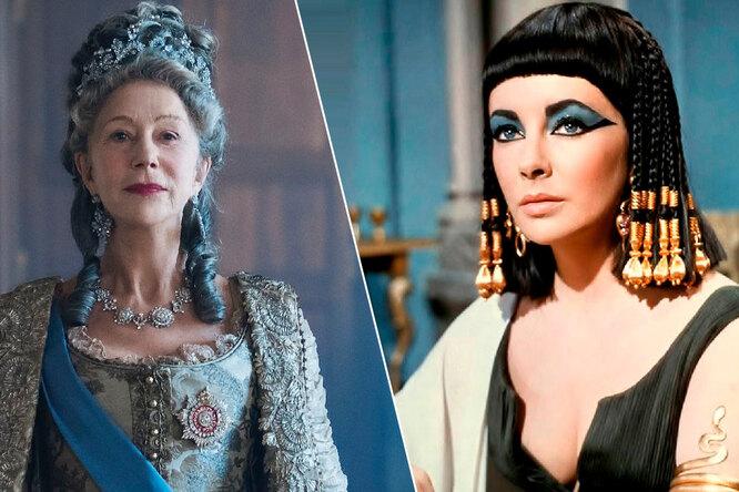 Королевы иимператрицы: необычные образы звезд, сыгравших правительниц