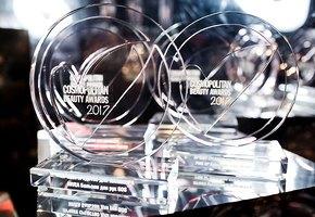 Красота и искусство на XIV Ежегодной премии Cosmopolitan Beauty Awards
