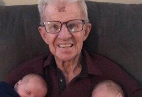 Фотография дедушки с внуками в Инстаграм помогла диагностировать рак кожи