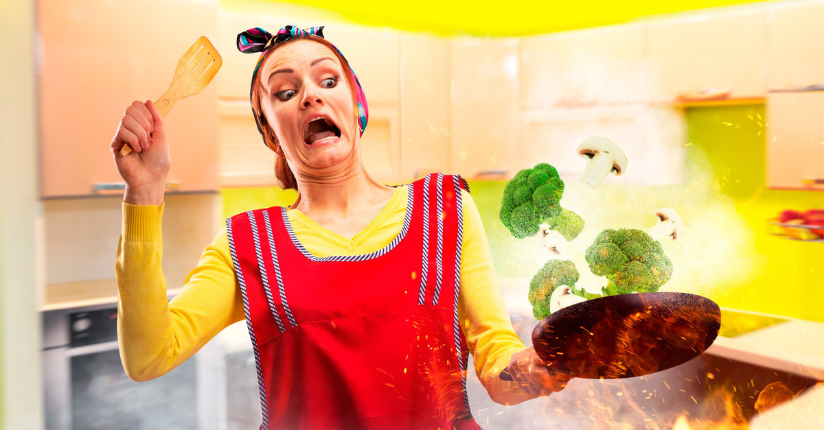 Адская кухня: 15 ситуаций, когда людям не стоило подходить к плите