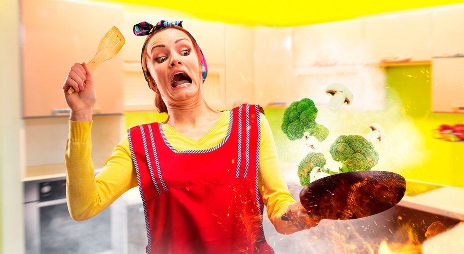 Адская кухня: 15 ситуаций, когда людям нестоило подходить кплите