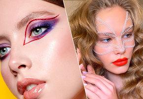 5 блестящих идей для новогоднего макияжа