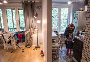 Пробить потолок: как визуально увеличить пространство комнат в «хрущевке»