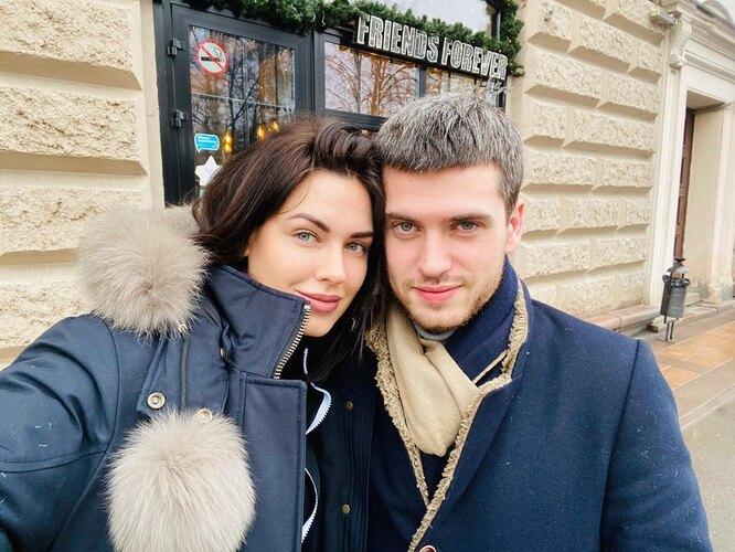 Ирина Антоненко с братом
