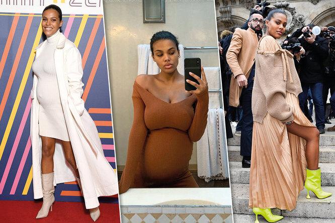Пять лучших «беременных» образов Тины Кунаки