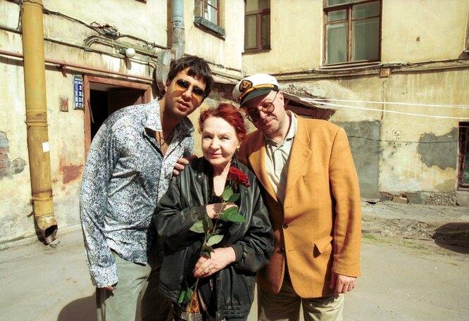 Нина, Андрей и Иван Ургант