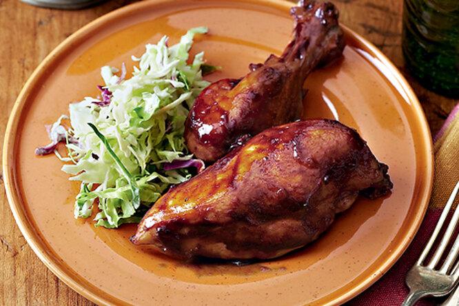 Курица в стиле барбекю