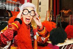 Столетняя Айрис Апфель: кого она любила икак стала фэшн-иконой
