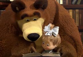 На заметку родителям: герои мультсериала «Маша и Медведь» рассказали, чем заняться дома