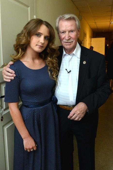 С женой Натальей Шевель