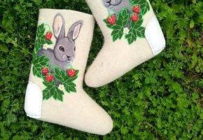 10 валенок и рукавичек от российских дизайнеров. Богиня в деталях!