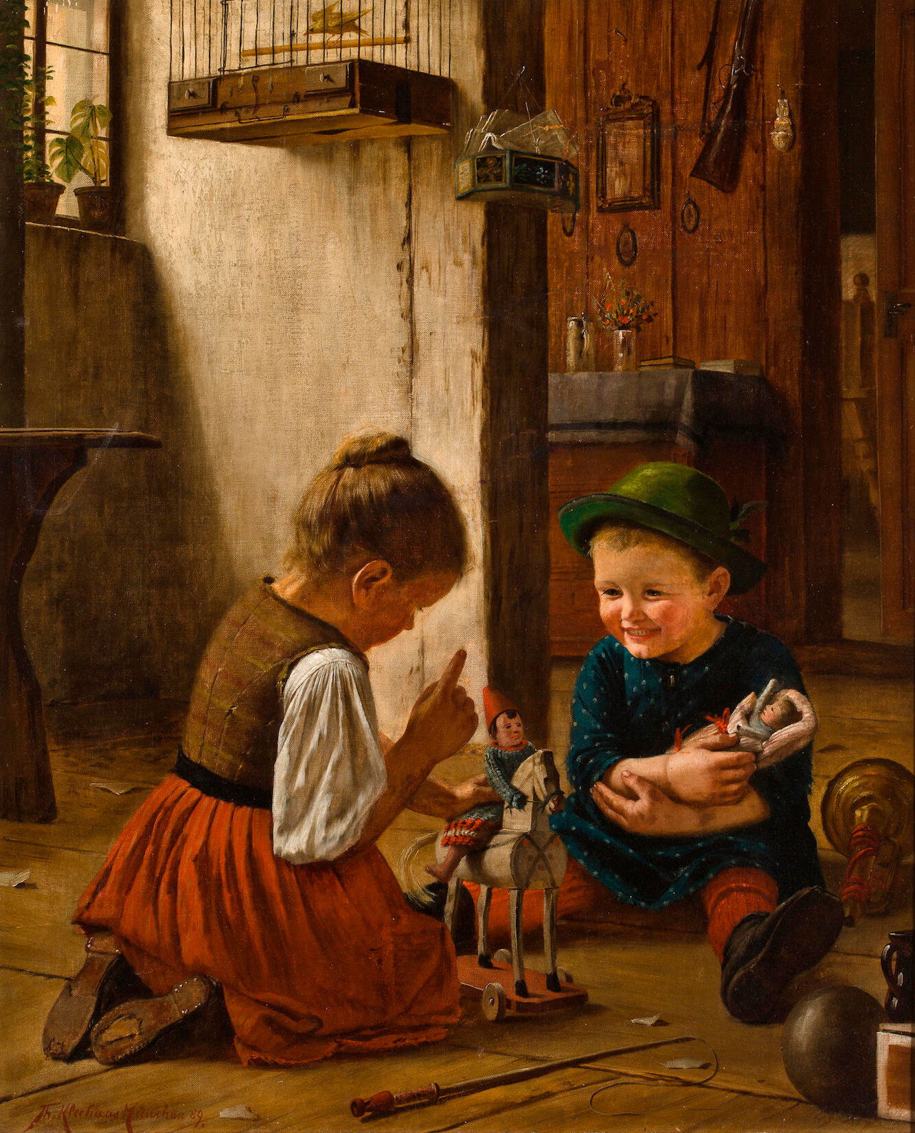 Как мальчиков и девочек прошлого учили играть, чтобы вырастить из них мужчин и женщин