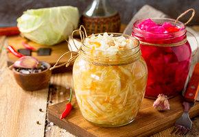 Топ-5 ферментированных продуктов и рецепты  с видео