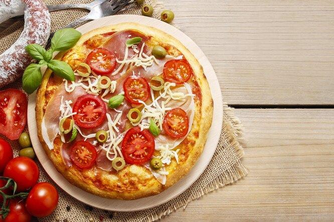 3 варианта «быстрой» пиццы назавтрак