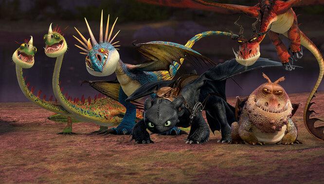 Как приручить дракона (How to Train Your Dragon)
